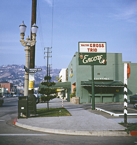 From the George Mann Archives: La Cienega Restaurant Row