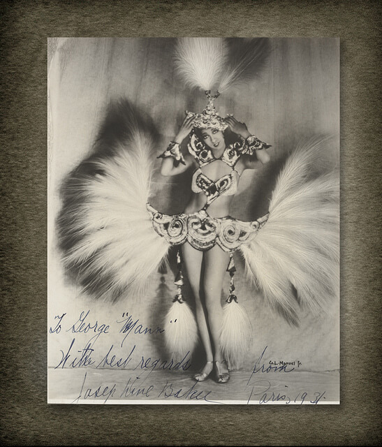 From the George Mann Archives: Josephine Baker live in Paris, 1931